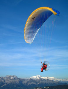 Paraglider Powered Muse 2