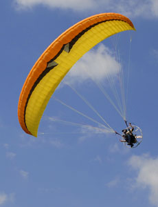 Paraglider muse 3 Powered