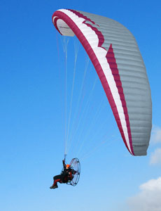 Paraglider lucky 4